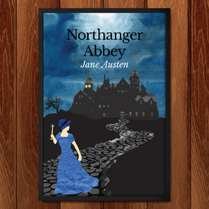 "Northanger Abbey by Keely Kundell 12"" by 18"" Print / Framed Print Recovering the Classics"