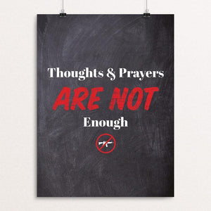 "Not Enough by Aaron Perry-Zucker 12"" by 16"" Print / Unframed Print The Gun Show"