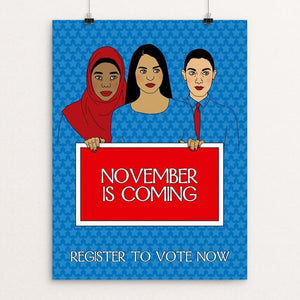 November is Coming by Lisa Vollrath