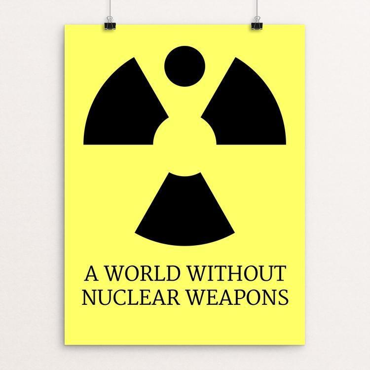 "Nuclear Angel by Mark Sheeky 12"" by 16"" Print / Unframed Print Demand Zero!"