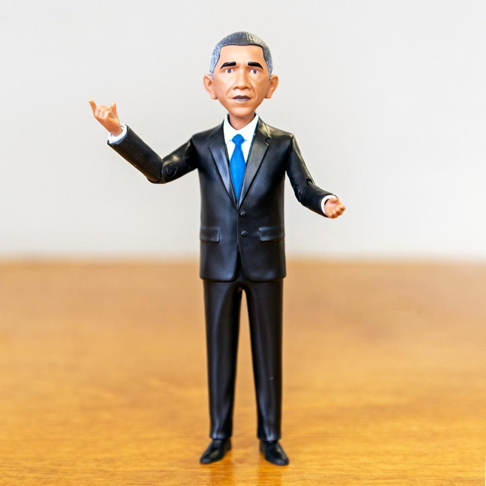 Obama Action Figure by FCTRY Action Figure Creative Action Network