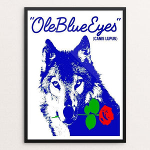 Ole Blue Eyes by Bob Rubin