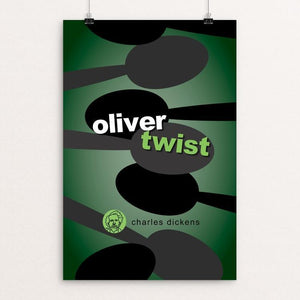 "Oliver Twist by Robert Wallman 12"" by 18"" Print / Unframed Print Recovering the Classics"