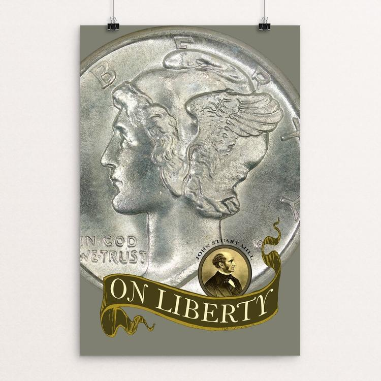 "On Liberty by Vivian Chang 12"" by 18"" Print / Unframed Print Recovering the Classics"