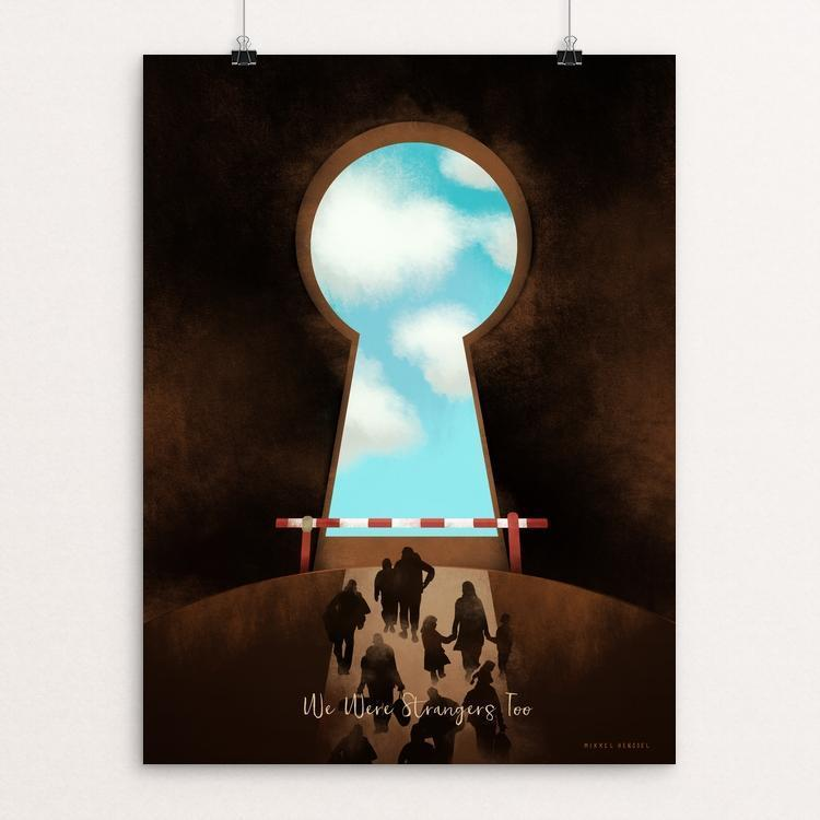 "On the Brink of Salvation 1 by Mikkel Henssel 12"" by 16"" Print / Unframed Print We Were Strangers Too"