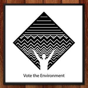 One Vote One Environment by Eric Seremek