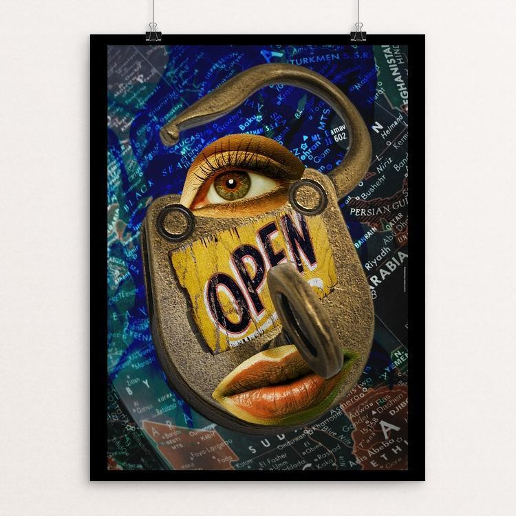 "Openings by Martin Mendelsberg 12"" by 16"" Print / Unframed Print Creative Action Network"
