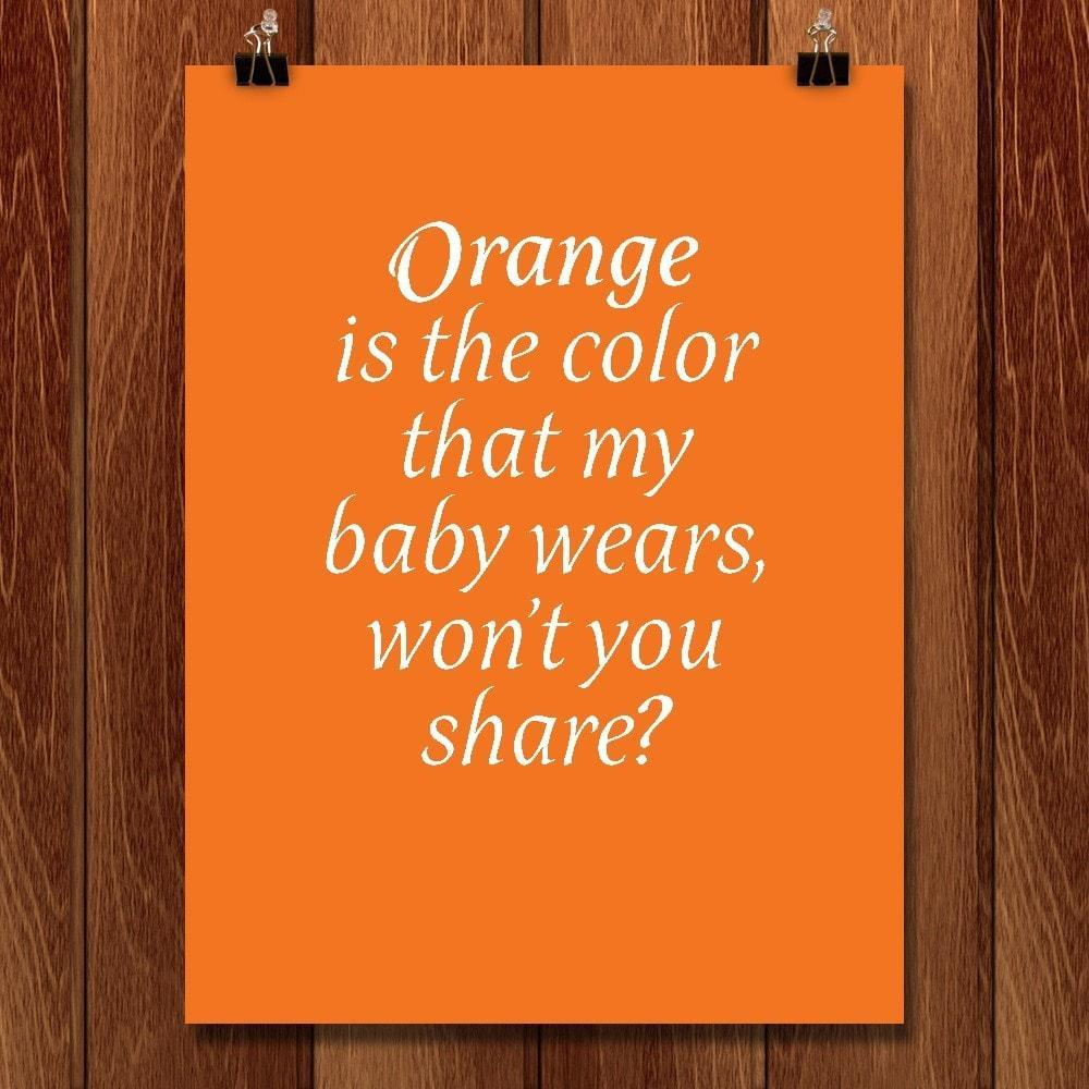 Orange is the Color by Chris Lozos