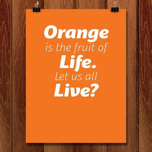 Orange is the Fruit of Life by Chris Lozos