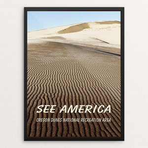 "Oregon Dunes National Recreation Area by Marcia Brandes 12"" by 16"" Print / Framed Print See America"