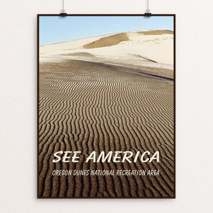 "Oregon Dunes National Recreation Area by Marcia Brandes 12"" by 16"" Print / Unframed Print See America"