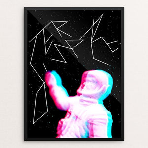 "Outer Space by Trevor Messersmith 12"" by 16"" Print / Framed Print Creative Action Network"