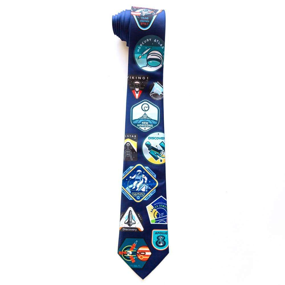 Outer Space Neck Tie 3.5x56 inch Neck Tie Space Horizons