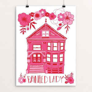 "Painted Lady by Mara Penny 12"" by 16"" Print / Unframed Print Art Lives Here"