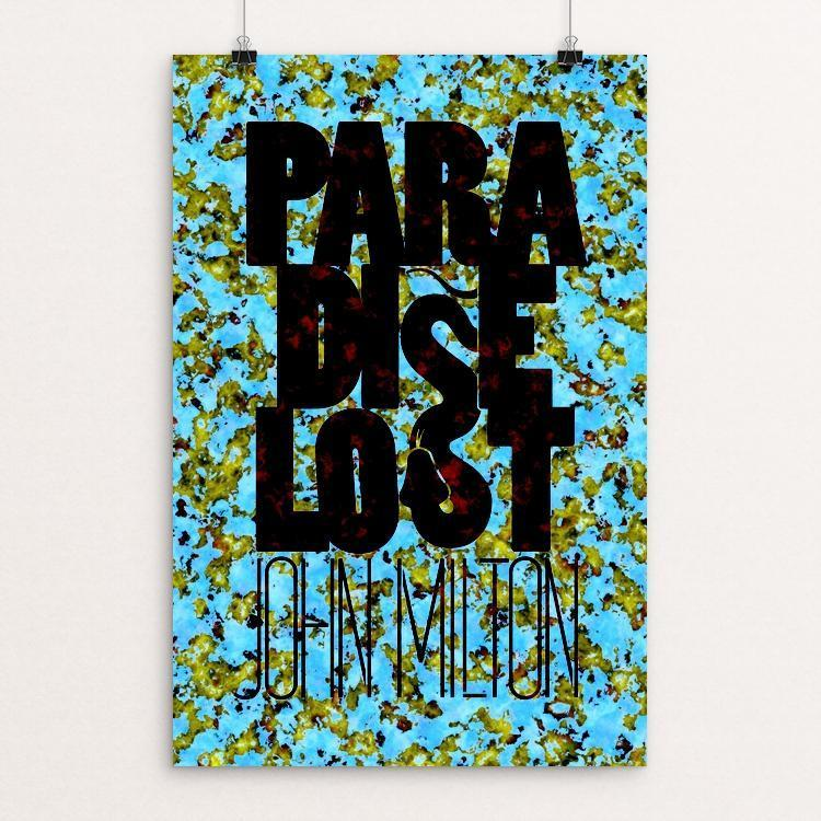"Paradise Lost by Jim Leonardson 12"" by 18"" Print / Unframed Print Recovering the Classics"