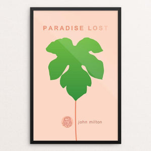 "Paradise Lost by Robert Wallman 12"" by 18"" Print / Framed Print Recovering the Classics"