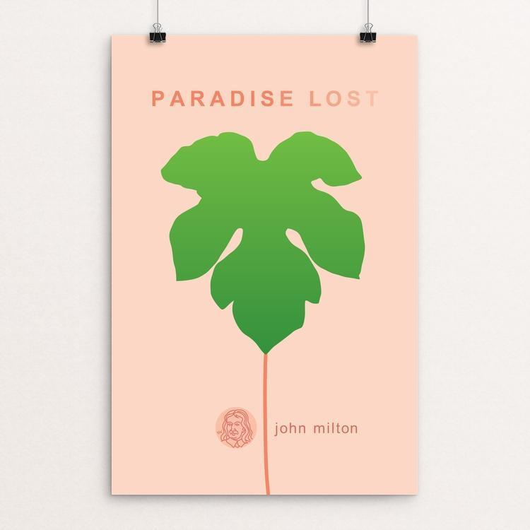 "Paradise Lost by Robert Wallman 12"" by 18"" Print / Unframed Print Recovering the Classics"