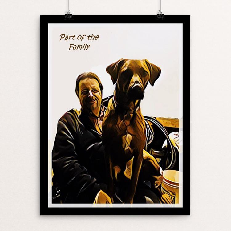 "Part of the Family 1 by Bryan Bromstrup 12"" by 16"" Print / Unframed Print Creative Action Network"