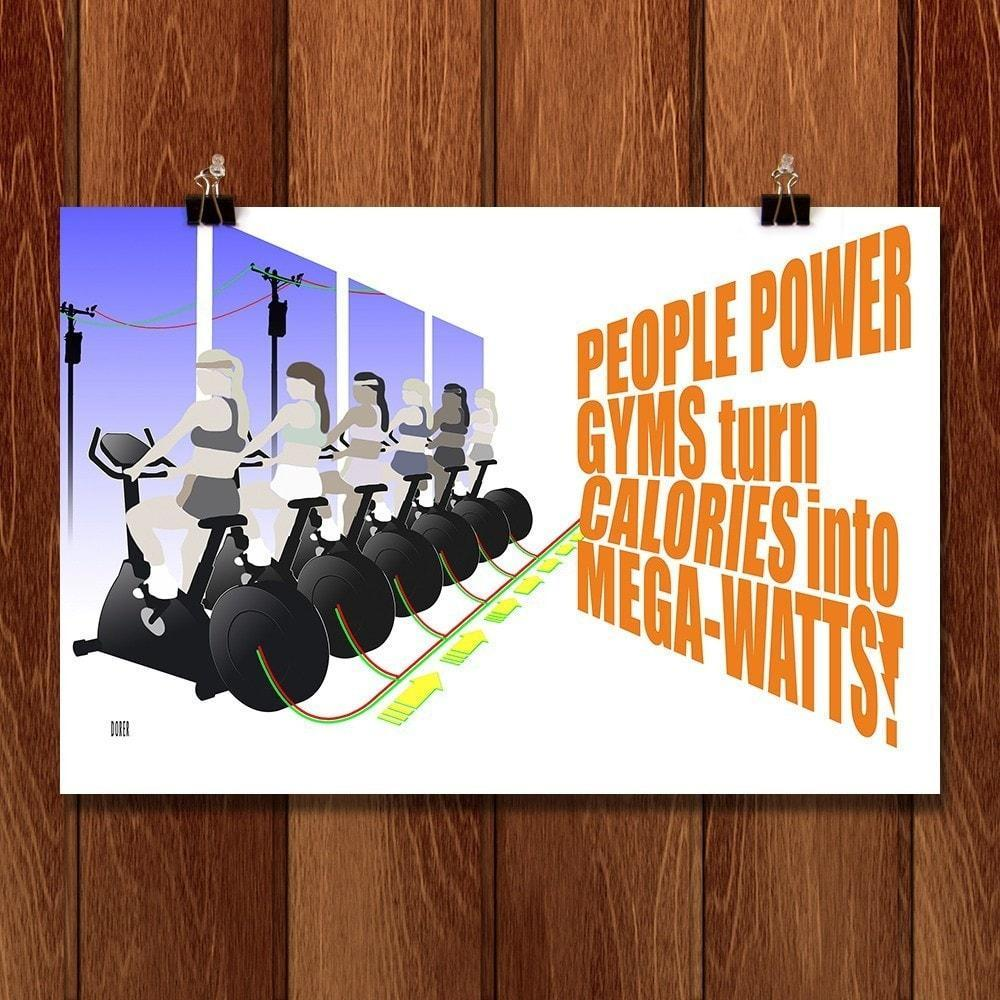 People Power Gym by Jeff Dorer