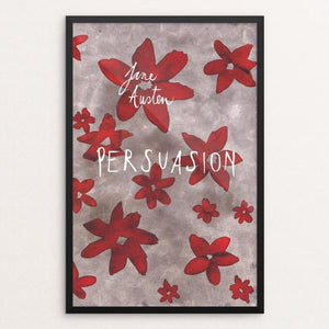 "Persuasion by Anna Masini 12"" by 18"" Print / Framed Print Recovering the Classics"