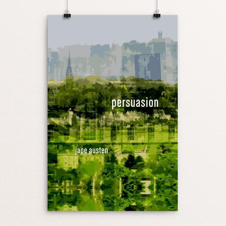 "Persuasion by Emily Adams 12"" by 18"" Print / Unframed Print Recovering the Classics"