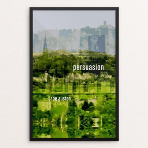 "Persuasion by Emily Adams 12"" by 18"" Print / Framed Print Recovering the Classics"