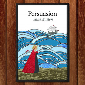 "Persuasion by Keely Kundell 12"" by 18"" Print / Framed Print Recovering the Classics"