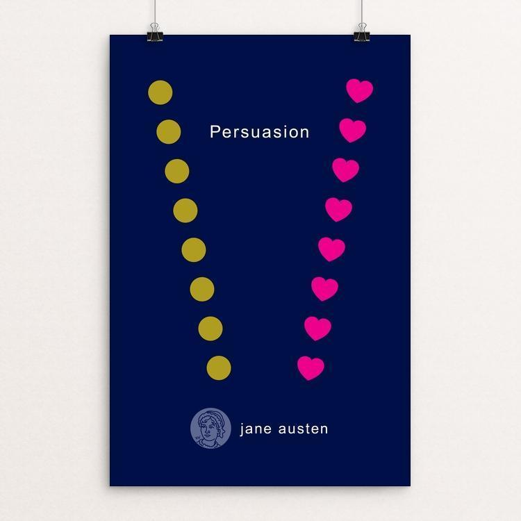 "Persuasion by Robert Wallman 12"" by 18"" Print / Unframed Print Recovering the Classics"