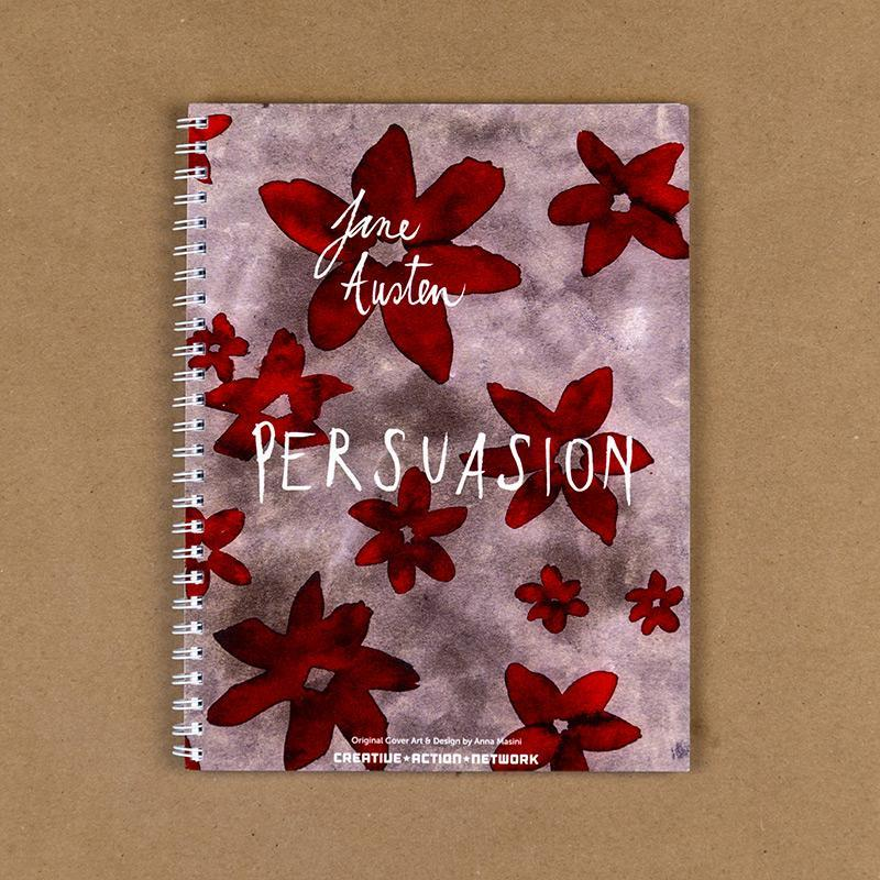 Persuasion Spiral Notebook by Anna Masini