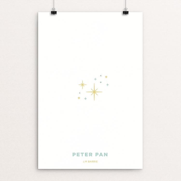 "Peter Pan by Dominic DeLong 12"" by 18"" Print / Unframed Print Recovering the Classics"