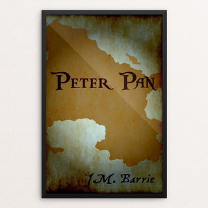 "Peter Pan by Elizabeth Blanke 12"" by 18"" Print / Framed Print Recovering the Classics"