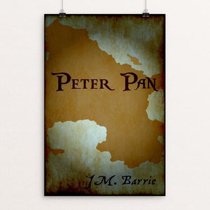 "Peter Pan by Elizabeth Blanke 12"" by 18"" Print / Unframed Print Recovering the Classics"