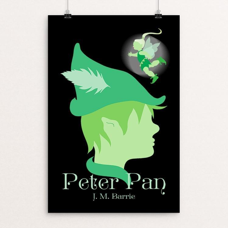 "Peter Pan by Margo Alexander 12"" by 18"" Print / Unframed Print Recovering the Classics"
