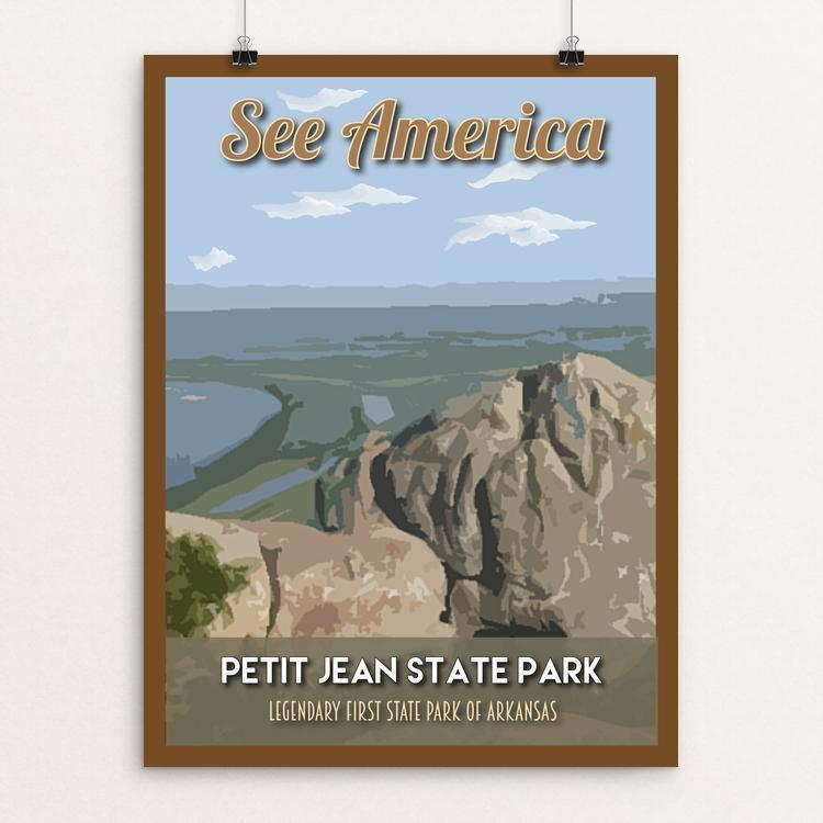 "Petit Jean State Park by Robin Rials Williams 12"" by 16"" Print / Unframed Print See America"