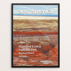 Petrified Forest National Park 1 by Jane Rohling