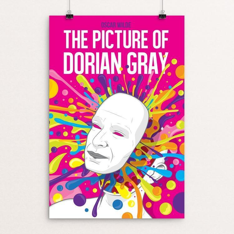 "Picture of Dorian Gray by Roberlan Borges 12"" by 18"" Print / Unframed Print Recovering the Classics"
