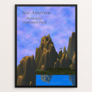 "Pinnacles National Park by Jody McFate 12"" by 16"" Print / Framed Print See America"