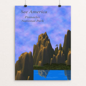 "Pinnacles National Park by Jody McFate 12"" by 16"" Print / Unframed Print See America"