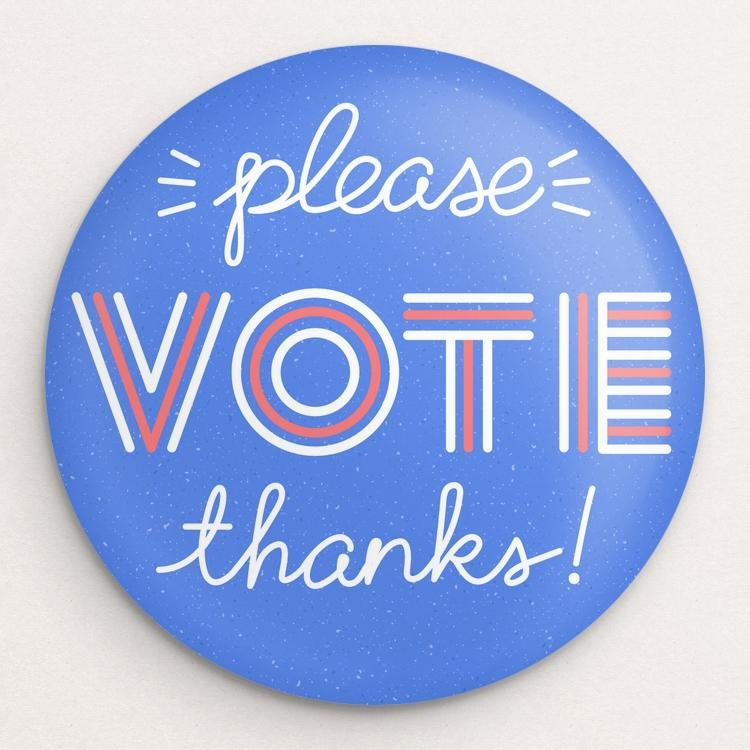 Please and Thanks! Button by Susanne Lamb