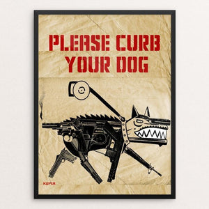 Please Curb Your Dog by Peter Kuper