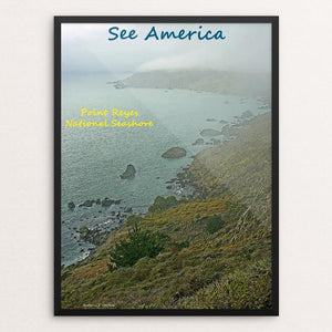 "Point Reyes National Seashore 1 by Anthony Chiffolo 12"" by 16"" Print / Framed Print See America"