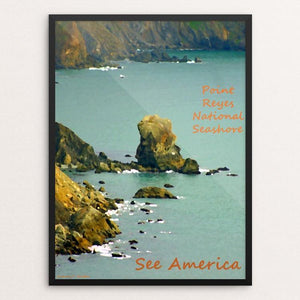 "Point Reyes National Seashore by Anthony Chiffolo 18"" by 24"" Print / Framed Print See America"
