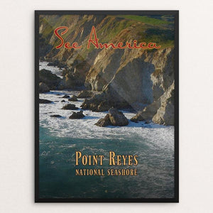 "Point Reyes National Seashore by Ed Gaither 12"" by 16"" Print / Framed Print See America"