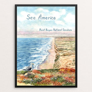 Point Reyes National Seashore by Elizabeth Kennen