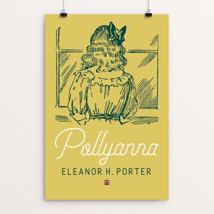 "Pollyanna by Ed Gaither 12"" by 18"" Print / Unframed Print Recovering the Classics"