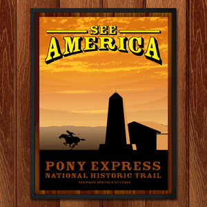Pony Express by Brian Samarripa