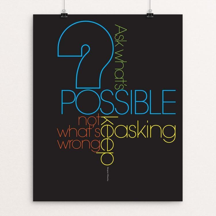 "POSSIBLE by Karl  Tani 16"" by 20"" Print / Unframed Print 1200 Posters"