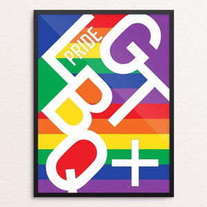 "Pride 2018 Part 1 by MarcAnthony Bermudez 12"" by 16"" Print / Framed Print Creative Action Network"