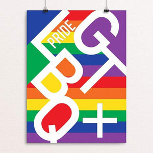 "Pride 2018 Part 1 by MarcAnthony Bermudez 12"" by 16"" Print / Unframed Print Creative Action Network"