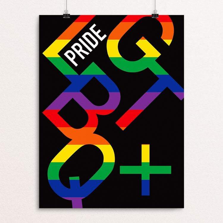 "Pride 2018 Part 2 by MarcAnthony Bermudez 12"" by 16"" Print / Unframed Print Creative Action Network"
